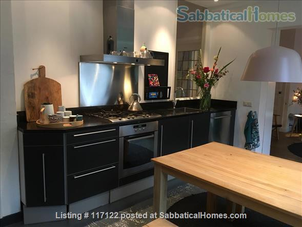 Charming canal view; garden apartment in Delft Home Rental in Delft, Zuid-Holland, Netherlands 0