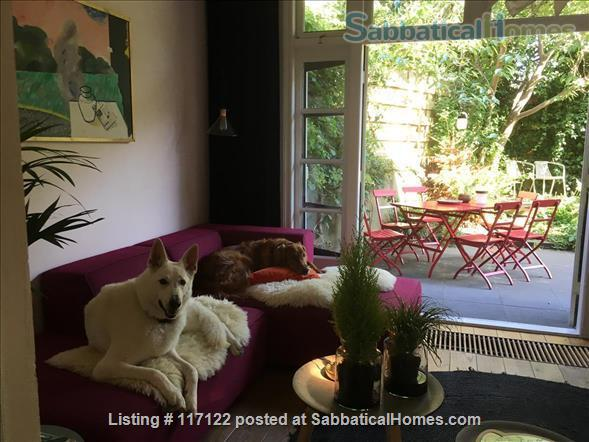 Charming canal view; garden apartment in Delft Home Rental in Delft, Zuid-Holland, Netherlands 2