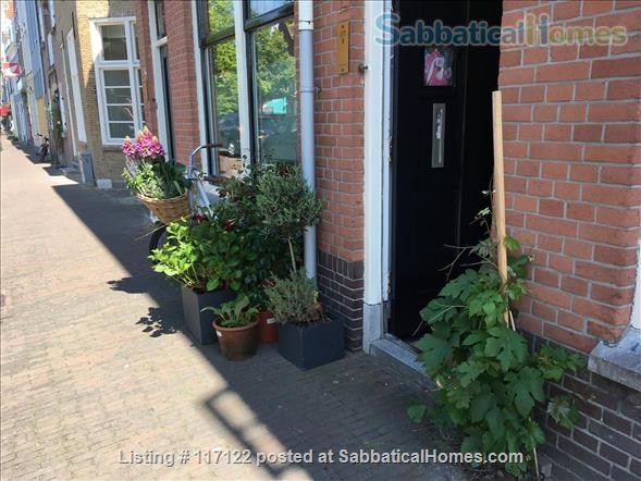 Charming canal view; garden apartment in Delft Home Rental in Delft, Zuid-Holland, Netherlands 4