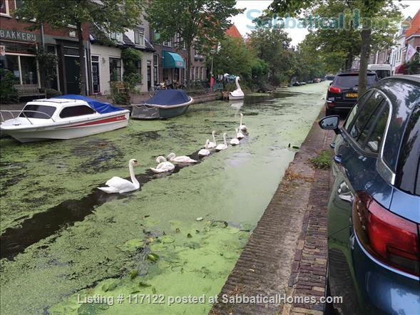Charming canal view; garden apartment in Delft Home Rental in Delft, Zuid-Holland, Netherlands 5
