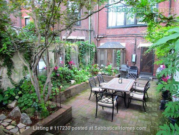 Stunning 1 BR Beacon Hill Luxury Condo with Private Garden/Patio &  Private Entrance Home Rental in Boston, Massachusetts, United States 1