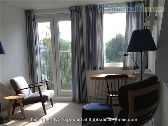 Lovely light sunny loft and separate kitchen in Clapham, South London Home Rental in Greater London, England, United Kingdom 1
