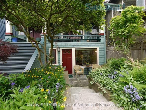 2 Bedroom Suite In Kitsilano Character Home Near UBC  Home Rental in Vancouver, British Columbia, Canada 0