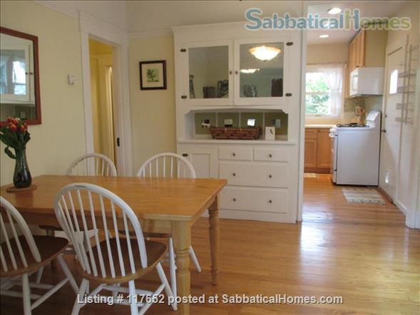 2 bd/2 bath sunny, updated duplex w/lush yard & large deck, walk everywhere Home Rental in Berkeley, California, United States 2