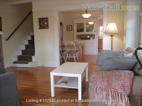 2 bd/2 bath sunny, updated duplex w/lush yard & large deck, walk everywhere Home Rental in Berkeley, California, United States 5