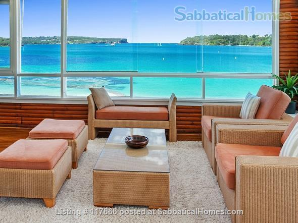 The Oriana -  Absolute beach frontage on Sydney Harbour. Home Rental in Mosman, New South Wales, Australia 2