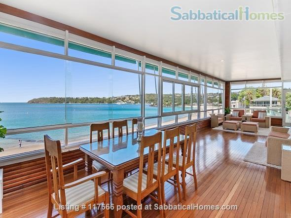 The Oriana -  Absolute beach frontage on Sydney Harbour. Home Rental in Mosman, New South Wales, Australia 4