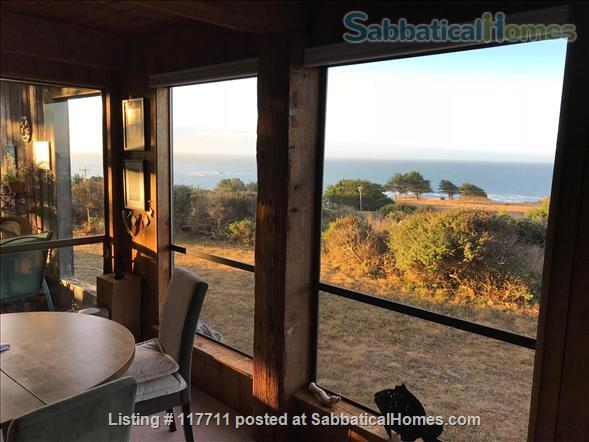 Beautiful, private, unique architectural home on the southern Mendocino Coast Home Rental in Gualala, California, United States 3