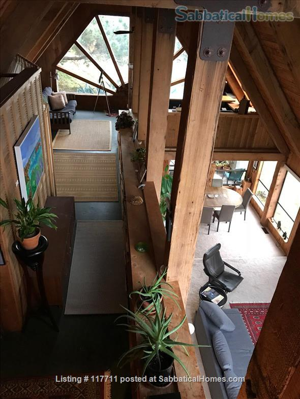 Beautiful, private, unique architectural home on the southern Mendocino Coast Home Rental in Gualala, California, United States 4