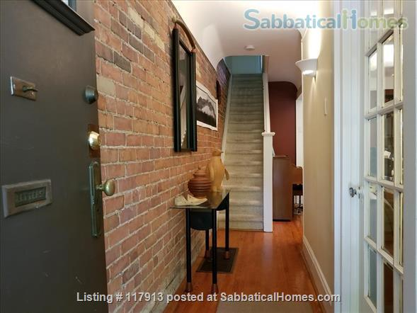 Oasis in the city - 2-3  bedroom house in Toronto's Riverdale near parks, subway, bus, quick trip to U of T, Ryerson Univ, hospitals  Home Rental in Toronto, Ontario, Canada 2