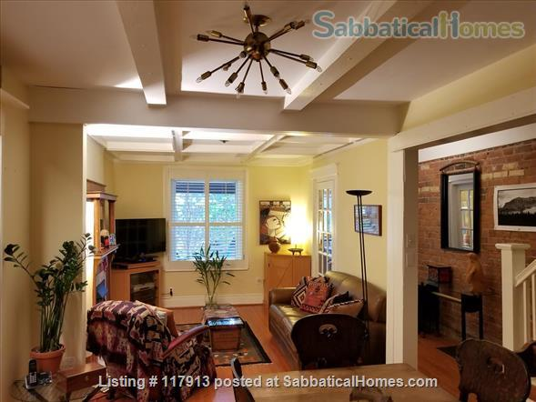 Oasis in the city - 2-3  bedroom house in Toronto's Riverdale near parks, subway, bus, quick trip to U of T, Ryerson Univ, hospitals  Home Rental in Toronto, Ontario, Canada 5