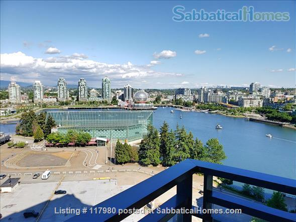 2 Bed - 1 Bath - Furnished  Downtown Condo - Water Views & Parking Home Rental in Vancouver, British Columbia, Canada 1