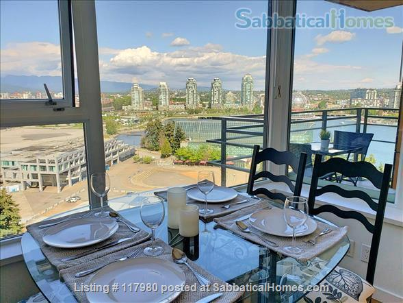 2 Bed - 1 Bath - Furnished  Downtown Condo - Water Views & Parking Home Rental in Vancouver, British Columbia, Canada 0