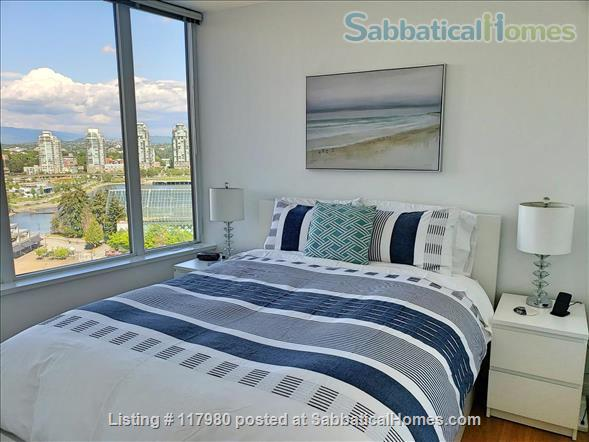 2 Bed - 1 Bath - Furnished  Downtown Condo - Water Views & Parking Home Rental in Vancouver, British Columbia, Canada 4