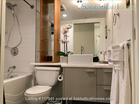2 Bed - 1 Bath - Furnished  Downtown Condo - Water Views & Parking Home Rental in Vancouver, British Columbia, Canada 6