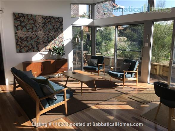 Sun filled modern guest house in quiet area, close to city Home Rental in Earlwood, NSW, Australia 1