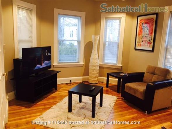 West Cambridge MA, Ideal for visiting scholars at Harvard/MIT/Tufts Home Rental in Cambridge 0