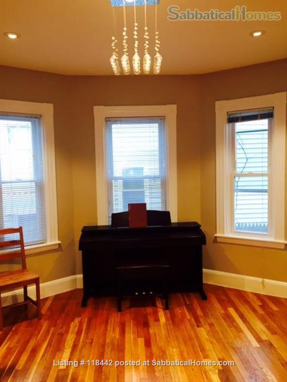West Cambridge MA, Ideal for visiting scholars at Harvard/MIT/Tufts Home Rental in Cambridge 4