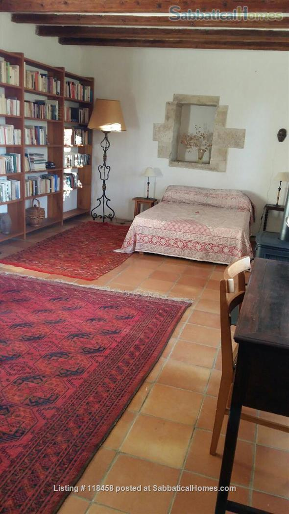 Centuries-old stone house  surrounded by cherry orchards and vineyards Home Rental in Malemort-du-Comtat, Provence-Alpes-Côte d'Azur, France 3