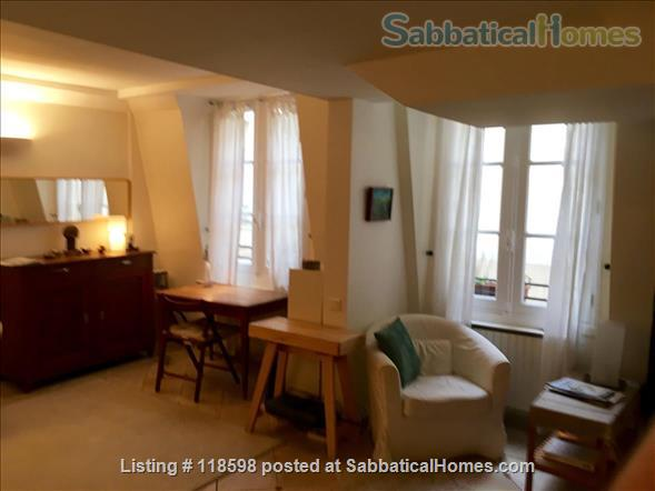 Ideal one-plus bedroom, 1 1/2 bath flat adjacent  Place des Vosges, Paris Home Rental in Paris, Île-de-France, France 0