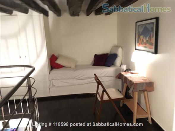 Ideal one-plus bedroom, 1 1/2 bath flat adjacent  Place des Vosges, Paris Home Rental in Paris, Île-de-France, France 5