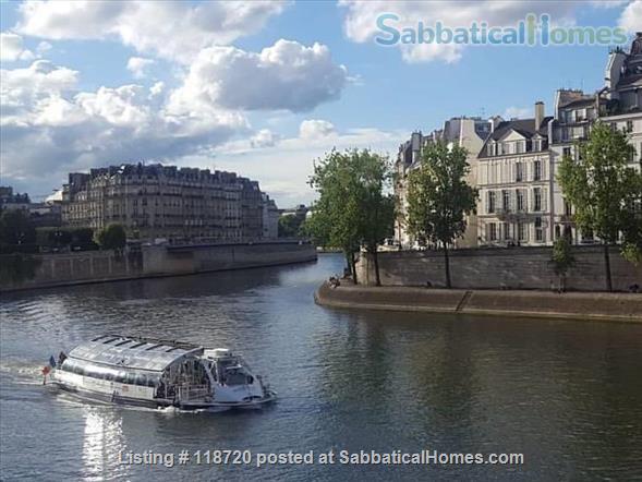 Luxury on the Seine, heart of Paris, Ile Saint Louis Home Exchange in Paris 1
