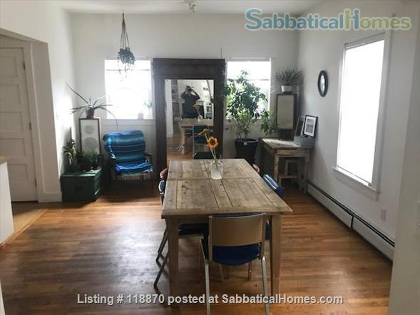 2000 sq foot, large , sunny 2 bedroom with yard  near red line and restaurants  Home Rental in Cambridge, Massachusetts, United States 2