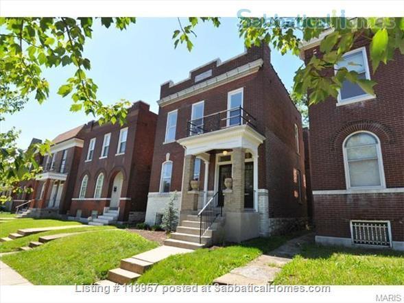 Beautiful, historic home in St. Louis near Tower Grove Park // SLU, Wash U, BJC, Harriet Stowe Home Rental in St Louis, Missouri, United States 1