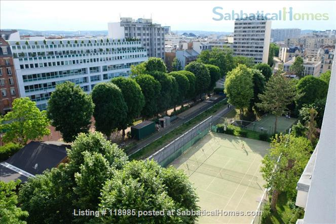 Peaceful and Sunny 2 bedroom with great view in Paris 15e Home Rental in Paris, Île-de-France, France 1