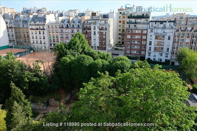 Peaceful and Sunny 2 bedroom with great view in Paris 15e Home Rental in Paris, Île-de-France, France 0