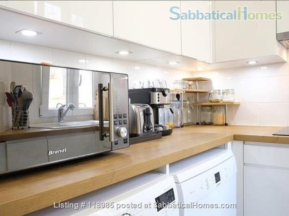 Peaceful and Sunny 2 bedroom with great view in Paris 15e Home Rental in Paris, Île-de-France, France 6