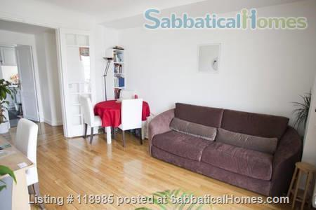 Peaceful and Sunny 2 bedroom with great view in Paris 15e Home Rental in Paris, Île-de-France, France 8