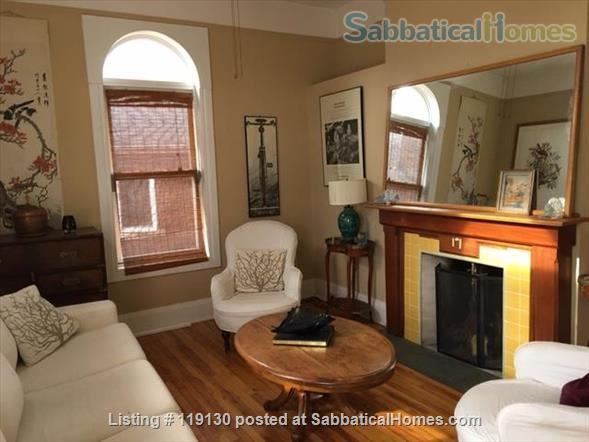 Historic Farmhouse in Trendy Dufferin Grove Neighbourhood Home Rental in Toronto, Ontario, Canada 1