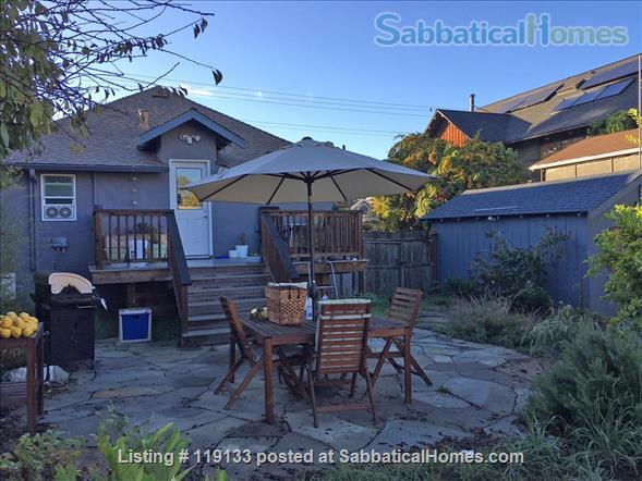 2BR/1.5BA home in walkable central Berkeley Home Rental in Berkeley, California, United States 8