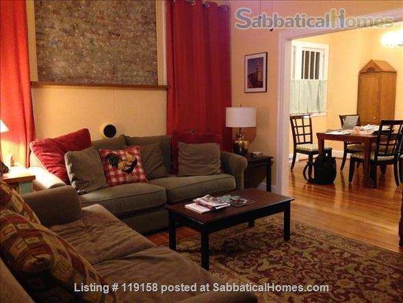 Walk to Duke & Downtown, furnished, utilities included, edible garden. Home Rental in Durham, North Carolina, United States 1