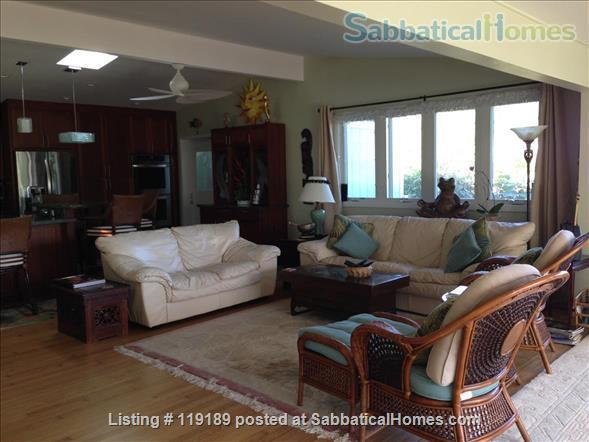 Special, quiet, ocean view lovely home  close to beach heated pool/spa surrounded by nature Home Rental in Kailua, Hawaii, United States 3