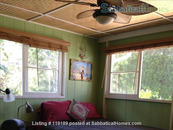 Special, quiet, ocean view lovely home  close to beach heated pool/spa surrounded by nature Home Rental in Kailua, Hawaii, United States 7