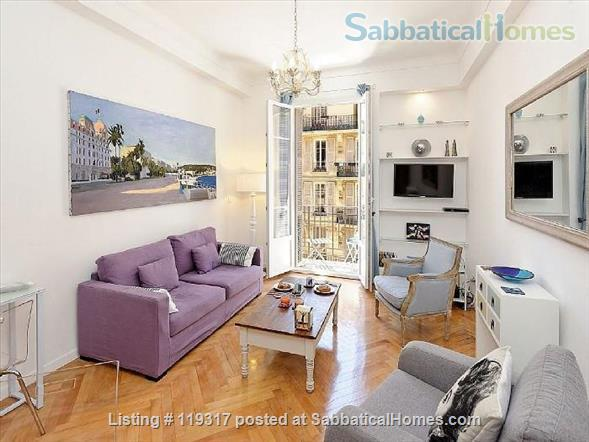 Beautiful Apartment in Central Nice, on the sunny Cote D'Azur Home Rental in Nice, Provence-Alpes-Côte d'Azur, France 1