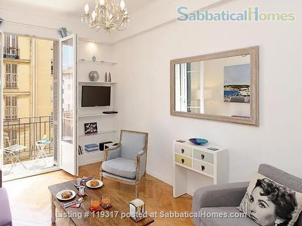 Beautiful Apartment in Central Nice, on the sunny Cote D'Azur Home Rental in Nice, Provence-Alpes-Côte d'Azur, France 0