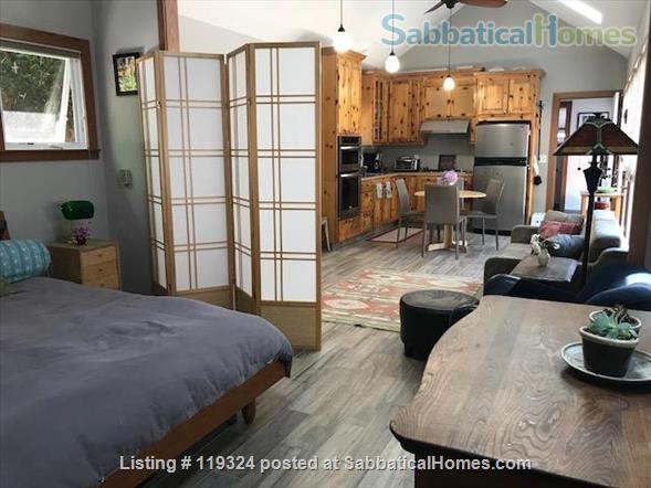 Beautiful Custom Built 1 Bedroom Separate Cottage In The Heart of Elmwood in Berkeley.   Home Rental in Berkeley, California, United States 1