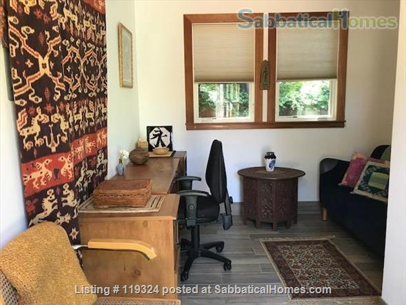 Beautiful Custom Built 1 Bedroom Separate Cottage In The Heart of Elmwood in Berkeley.   Home Rental in Berkeley, California, United States 4