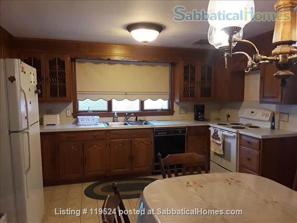 Fully Furnished  3 Bedroom Home  Available in West Newton  Home Rental in Newton, Massachusetts, United States 0