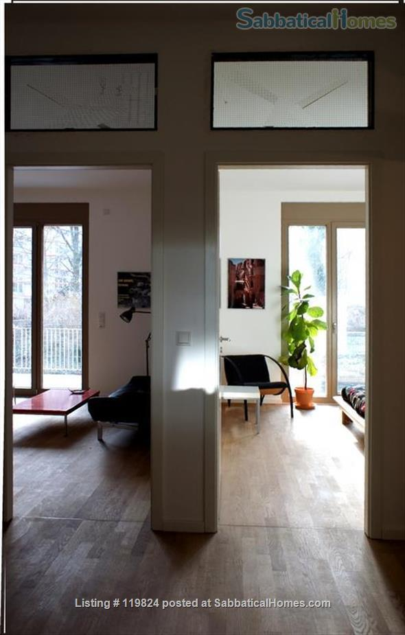 Central but quiet retreat to work, relax and experience Berlin Home Rental in Berlin 5 - thumbnail