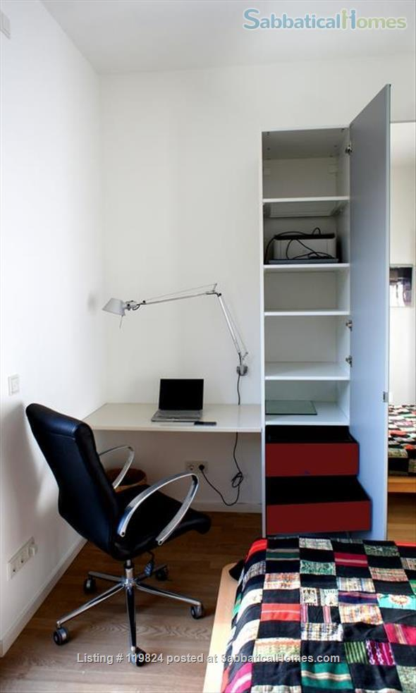 Central but quiet retreat to work, relax and experience Berlin Home Rental in Berlin, Berlin, Germany 7