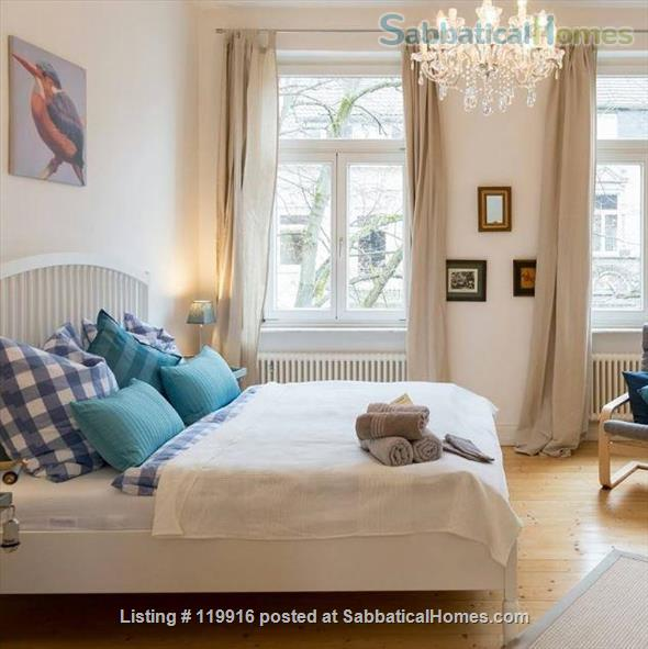 3 self contained suites  in a  Bed & Breakfast Inn setting  in historical Südstadt Bonn German Home Rental in Bonn, NRW, Germany 2