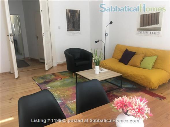 Furnished flat in Berlin Tiergarten, bright and quiet Home Rental in Berlin, Berlin, Germany 1