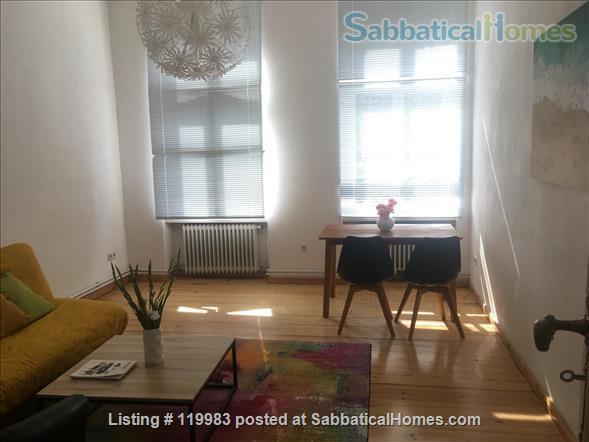 Furnished flat in Berlin Tiergarten, bright and quiet Home Rental in Berlin, Berlin, Germany 2