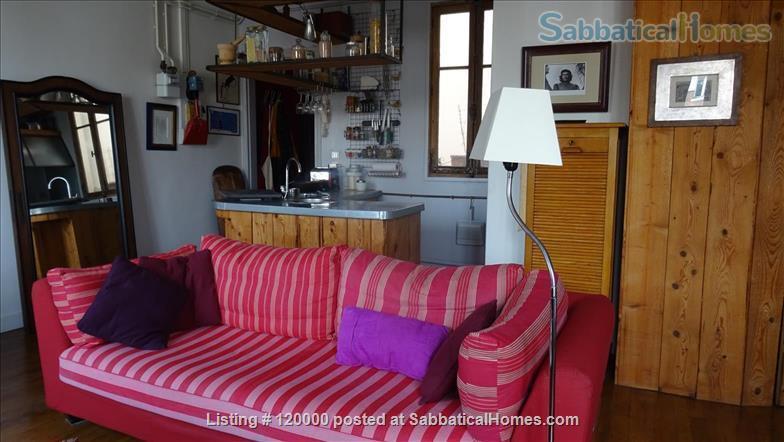 Silent and light studio near Buttes Chaumont Parc  Home Rental in Paris, Île-de-France, France 0