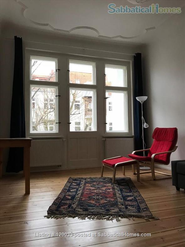 Berlin Home - spacious, bright, quiet and comfortable, fully furnished with all amenities Home Rental in Berlin, Berlin, Germany 1