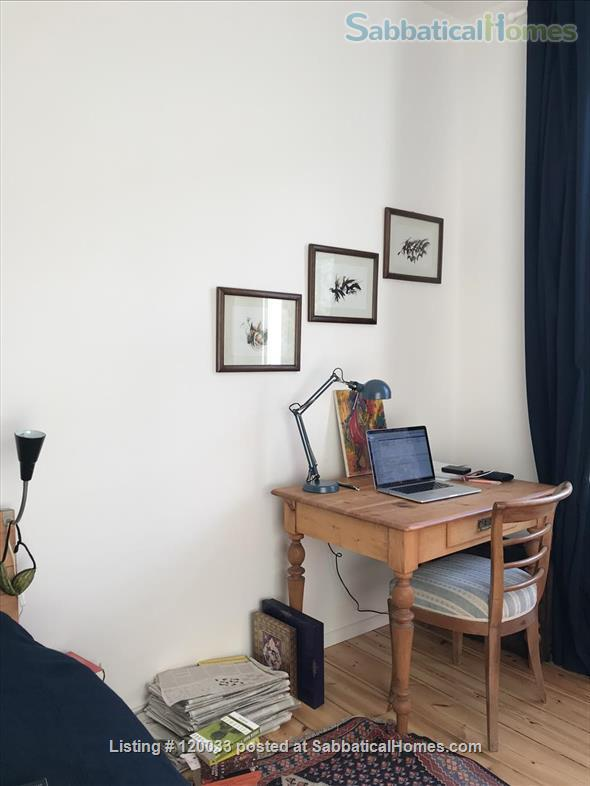 Berlin Home - spacious, bright, quiet and comfortable, fully furnished with all amenities Home Rental in Berlin, Berlin, Germany 0